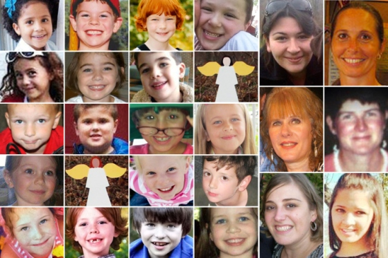 Sandy Hook victims - Rest in peace...